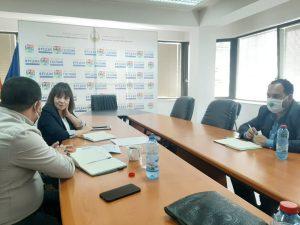 Ромскиот Ресурсен Центар Скопје и Сонце од Тетово остварија средба со Министерката за образование Мила Царовска