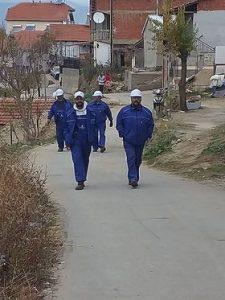Привремено ангажирање на 11 лица од социјално загрозени семејства во време на Ковид 19 во општина Виница