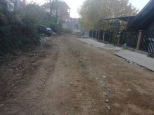 Целосна изградба на крак од улица Македонска во ромската населба во општина Виница во должина од 300 метри